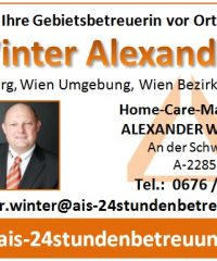AIS – 24stundenbetreuung – Home-Care-Management ALEXANDER WINTER